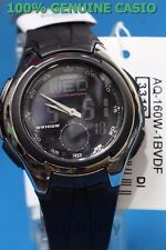AQ-160W-1B Black Casio Men's Analog Digital Watches Active Resin Band Brand-New