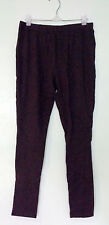 NWT FADED GLORY Brown Knit Leggings Sz S Small