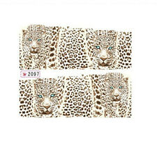 Personality Wild Leopard Panther Water Transfer Sticker Nail Art Decal Sticker