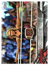 2017 TOPPS WWE Road to WRESTLEMANIA #81  CHARLOTTE  50 CENT SHIP