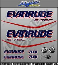 EVINRUDE ETEC - 30hp - OUTBOARD DECALS