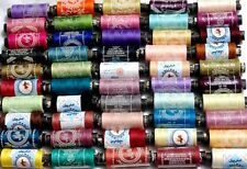 New 50 x Sewing All Purpose 100% Pure Cotton Spools Threads Assorted Colours
