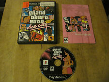 Grand Theft Auto Vice City - PS2 - Includes Game, Case, and Manual