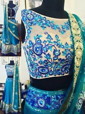 Indian Lehenga Choli Bollywood Style Party Traditional Wedding Bridal Lehenga