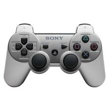 manette ps3 sony (silver) + cable usb (destockage)