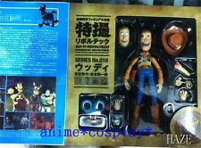 New Kaiyodo SCI-FI REVOLTECH TOY STORY WOODY Action Figure For GIFTS