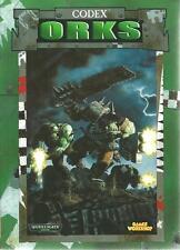WARHAMMER 40000 / CODEX ORKS - GAMES WORKSHOP -2002-