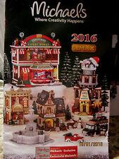 "TRAIN GARDEN HOUSE VILLAGE  "" BRAND NEW ITEMS for 2016  "" + DEPT 56/LEMAX info"