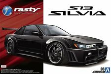 Aoshima 50989 New 1/24 Rasty PS13 SILVIA Nissan Limited Ver. from Japan Rare