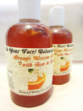 Balancing Facial Refresher Tonic Toner-Orange Blossom & Hibiscus with Rose Honey