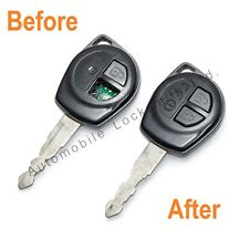 Per SUZUKI ALTO JIMNY LIANA 2 BUTTON REMOTE KEY Repair Service restauro fix