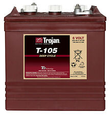 6V 225AH  T105 Trojan battery for GOLF CARTS,  accept trade-ins