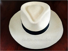 Genuine Fedora Straw Panama Hat 20 Points - All Sizes - [Montecristi - Ecuador]