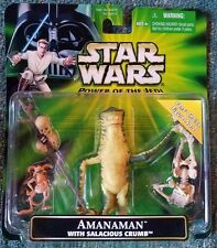 STAR WARS POWER OF THE JEDI AMANAMAN with SALACIOUS CRUMB FANS CHOICE FIGURE S26