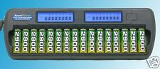 AccuPower AccuManager16 AP1216 Battery Charger 16 Bank AA AAA NiMH LCD 16-bay