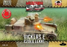 First to Fight Models 1/72 VICKERS 6 TON Mk.E TANK w/TWIN TURRET Polish Campaign