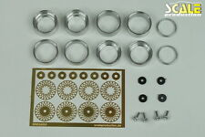 "Scale Production 1/24 Porsche 934 RSR 16"" BBS E56 Rims for Tamiya kit"