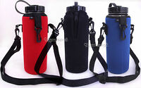 Water MIlk Bottle Insulated Neoprene Holder Cover Bag Carrier/Protective Case/1L