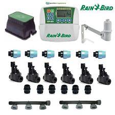 kit irrigazione Rain Bird 6 stazioni zone con centralina programmatore completo