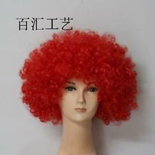 Wholesale Afro Curly Clown Party 70s Disco Wig Wigs 14 Colors Halloween Christma