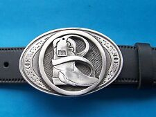 Belt Buckle Cowboy Boot and Belt Western style Country Line Dancing FREE UK POST