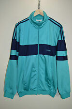 vtg 80s ADIDAS OVERSIZED CASUALS RETRO TRACK JACKET TRACKSUIT TOP SIZE D6 MEDIUM