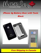 iPhone 4G Battery Door with tools -Black -Ships from ON, Canada