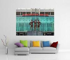 MANCHESTER UNITED TRINITY OLD TRAFFORD BEST LAW CHARLTON GIANT WALL POSTER