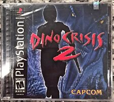 Dino Crisis 2 (PS1, 2000) BRAND NEW SEALED - FREE U.S. SHIPPING - NICE