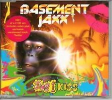 (AI389) Basement Jaxx, Jus 1 Kiss - 2001 CD