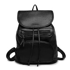 Classic Women Leisure Leather lady Backpack Schoolbag travel bags Shoulder Bag