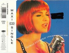 GLORIA ESTEFAN Live for loving you | Maxi-CD  3 Track 1992 Original