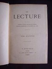 La lecture T.23 - La lecture hebdomadaire T.4