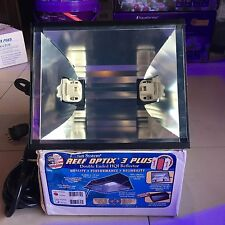 Reef Optix 3 Plus 150W - Metal Halide Double Ended HQI Reflector Aquarium Light