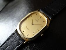 Authentic Swiss Made Omega De Ville Midsize Men's Watch~Gold Plaque 20M~WOW!