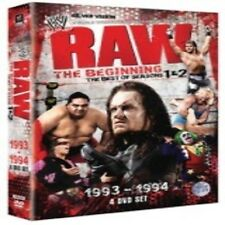 WWE Raw The Beginning Seasons 1 & 2 DVD (4 Discs) New & Sealed
