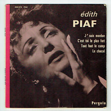 Edith PIAF Disque 45T EP J'SUIS MORDUE - C'EST TOI LE + FORT - PERGOLA 450075