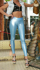 TrialLab TRANSPARENT UltraContour Leggings HL2AX LucidRubber BLAU Gr. XS