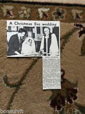 k2-5  ephemera 1966 picture stuart ager margaret ingram ramsgate wedding