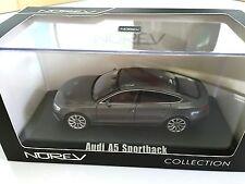 Audi A5 Sportback 2012 -Dark Grey 1:43 NOREV- AUTO MODELLBAU SAMMLUNG 830100