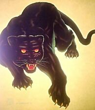 Vintage 1981 Original RoAcH Black Panther Iron-On Transfer RARE!