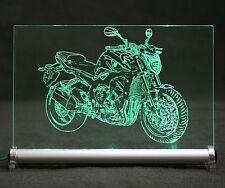 FZ1 Gravur auf LED Leuchtschild motorrad motorcycle