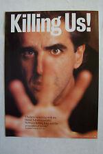 JAZ COLEMAN (Killing Joke) - 1994 Magazine Poster