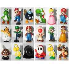 "Super Mario Bros 1~2.5"" Lot 18 pcs Action Figure Doll Playset Figurine Gift"