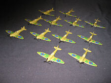 Job lot of 12 matchbox spitfires - all in excellent condition..1 is missing part
