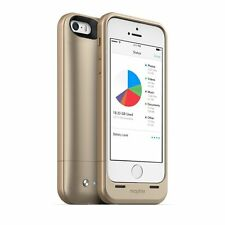 ORIGINALE Mophie SPACE Pack iPhone 5S / 5 / se Batteria Case / Power Pack + 32GB di storage