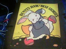 Bunny's Book of Best Stories 1939 illustrated by Fern Bisel Peat edf