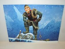 "DISNEY FROZEN MOVIE 2 SIDED MINI POSTER 12""X16"" KRISTOFF MOUNTAIN & PRINCE HANS"