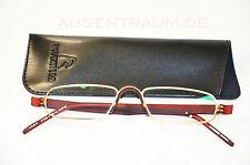 Lesebrille Pro Read Rodenstock R 2180 rot gold B +2,0 Brille inkl. Etui Neu