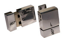 James Bond USB Genuine 8GB Cufflinks with Bond Box (4GB In Each Link)